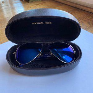 Michael Kors M2066S Dylan Blue Aviators
